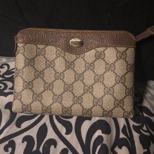 Vintage Gucci make up bag